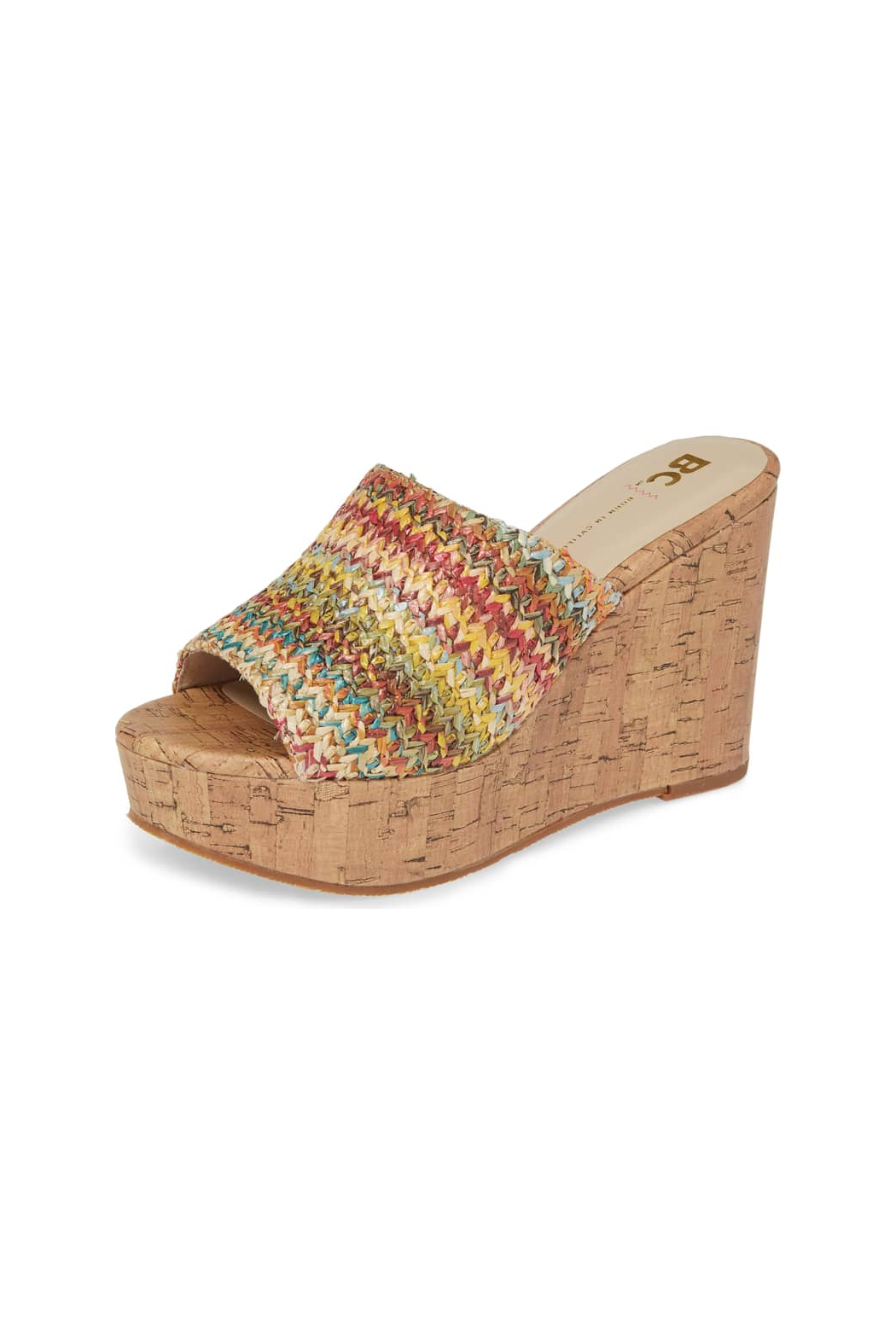 BC Footwear Perennial Wedge - Front Cropped Image