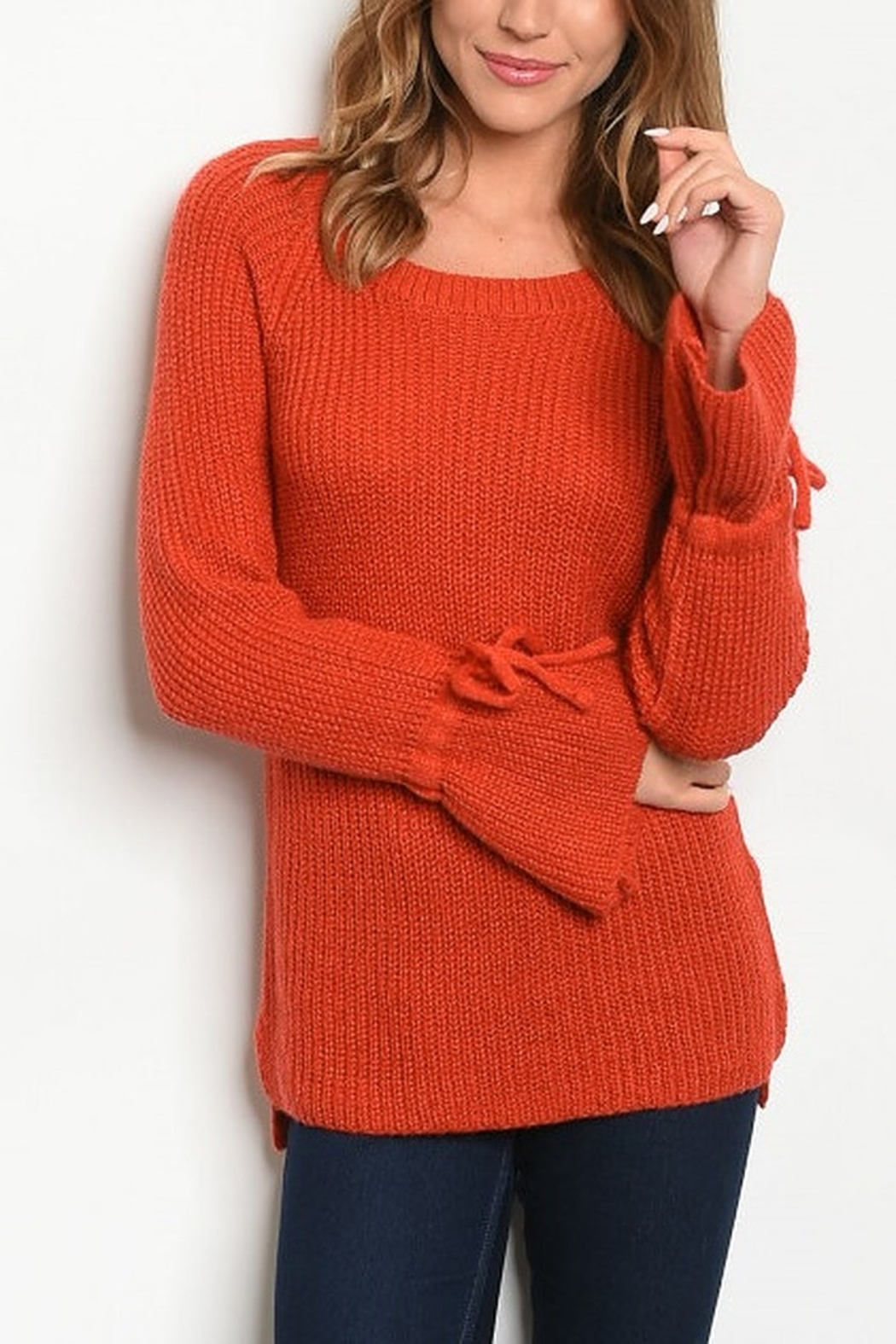 Lyn-Maree's  Perfect Bell Sleeve Sweater - Main Image