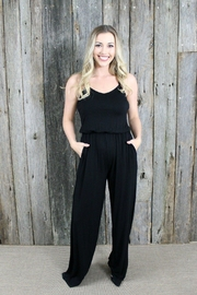 KORI AMERICA Perfect Black Jumpsuit - Product Mini Image