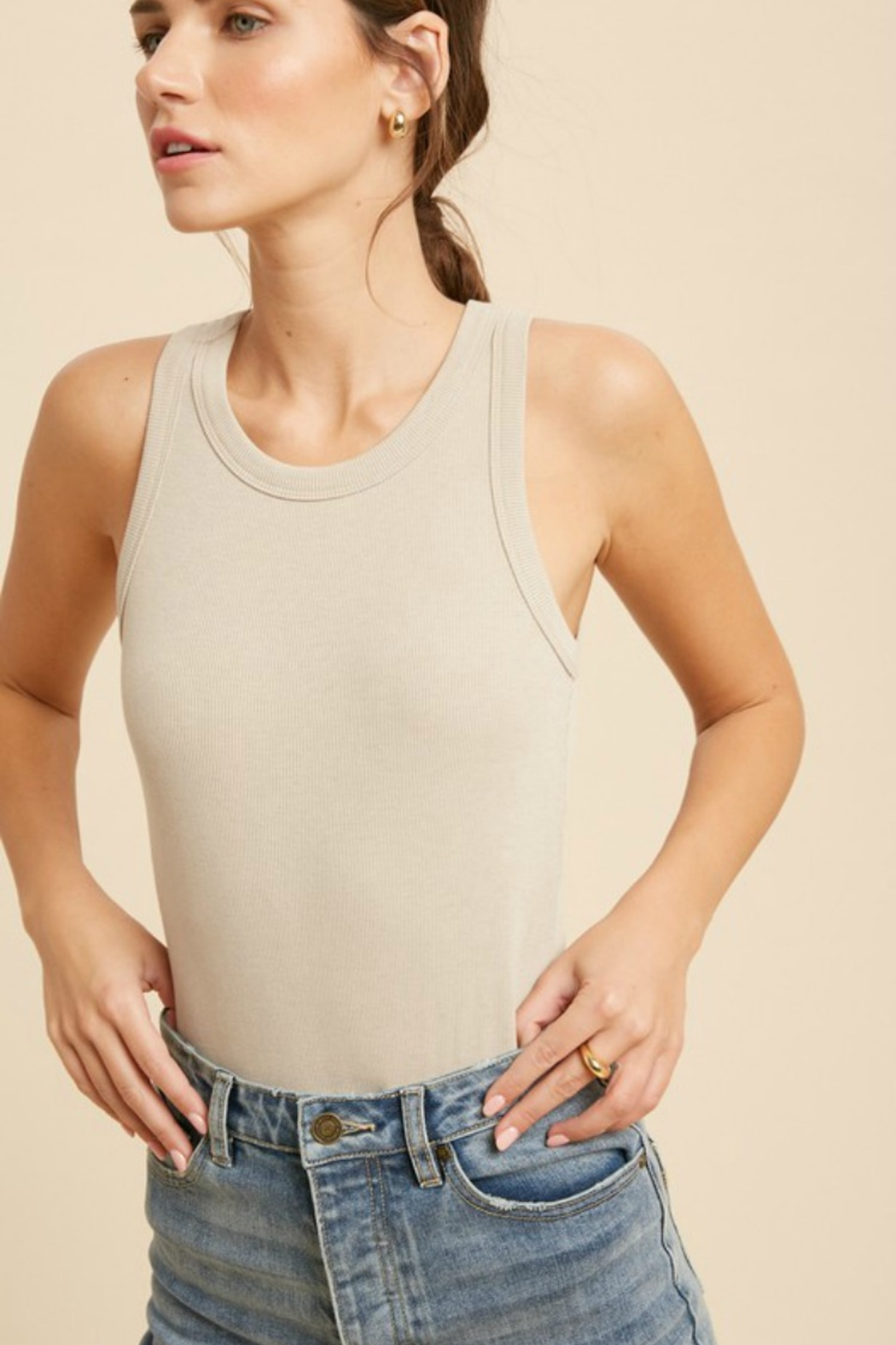 Wishlist  Perfect Bodysuit - Front Cropped Image