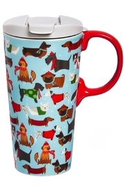 Evergreen Enterprises Perfect Cup Festive-Fido's - Front cropped