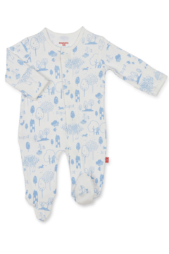 Magnetic Me Perfect Day Organic Cotton Magnetic Footie - Alternate List Image