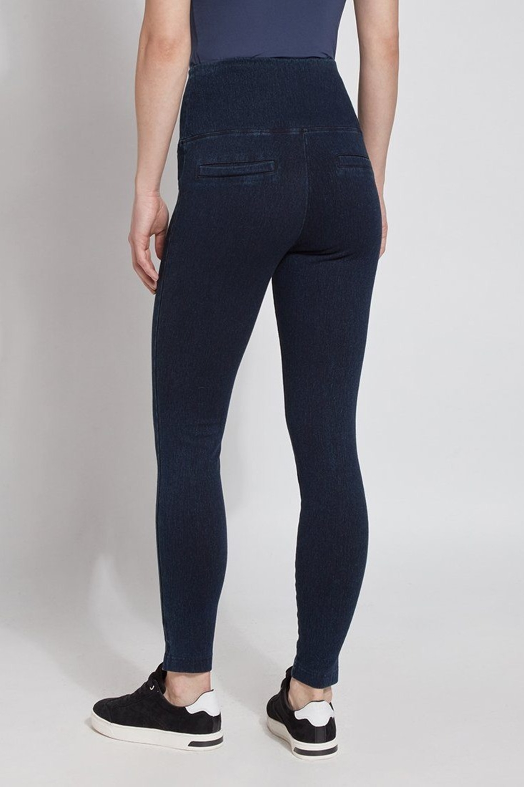 Lysse Perfect Denim Leggins - Side Cropped Image