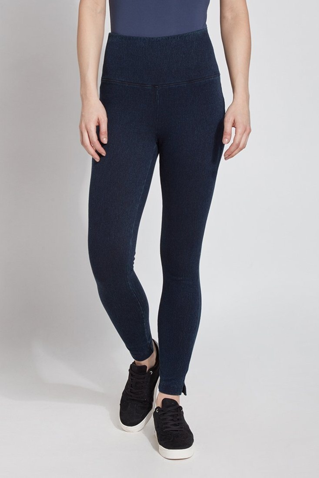 Lysse Perfect Denim Leggins - Front Cropped Image