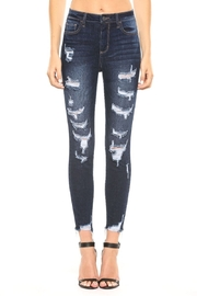 Cello Jeans Perfect Distressed Skinny Jeans - Product Mini Image