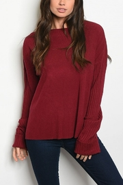 Lyn-Maree's  Perfect Everyday Sweater - Front cropped