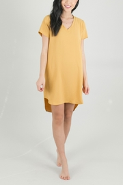 Lyn-Maree's  Perfect Everyday T-Shirt Dress - Front cropped