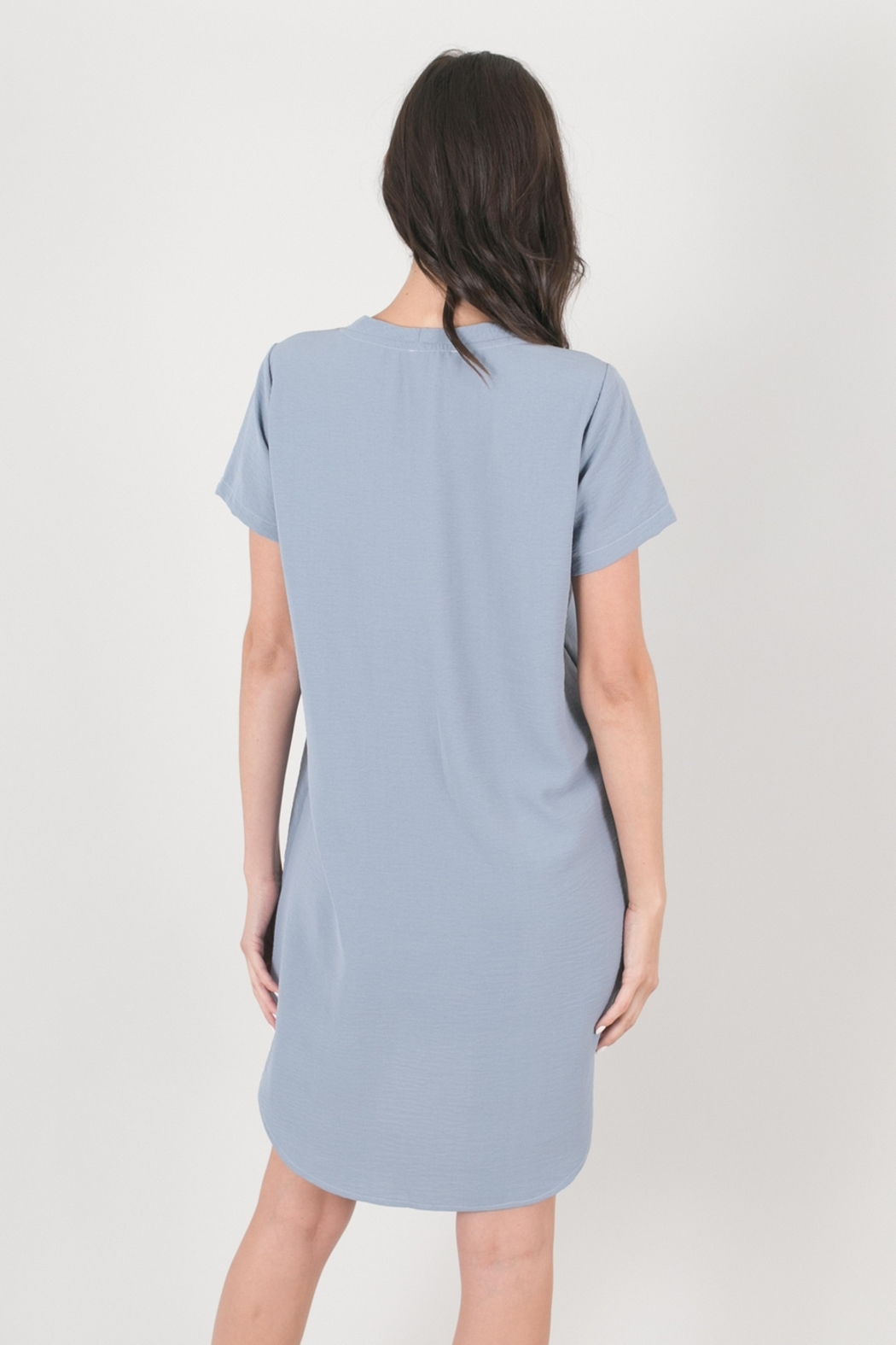 Lyn-Maree's  Perfect Everyday T-Shirt Dress - Front Full Image