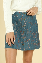 Honey Punch Perfect Floral Skirt - Product Mini Image