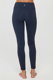 SPIRITUAL GANGSTER Perfect High Waist Side Stripe Legging - Side cropped