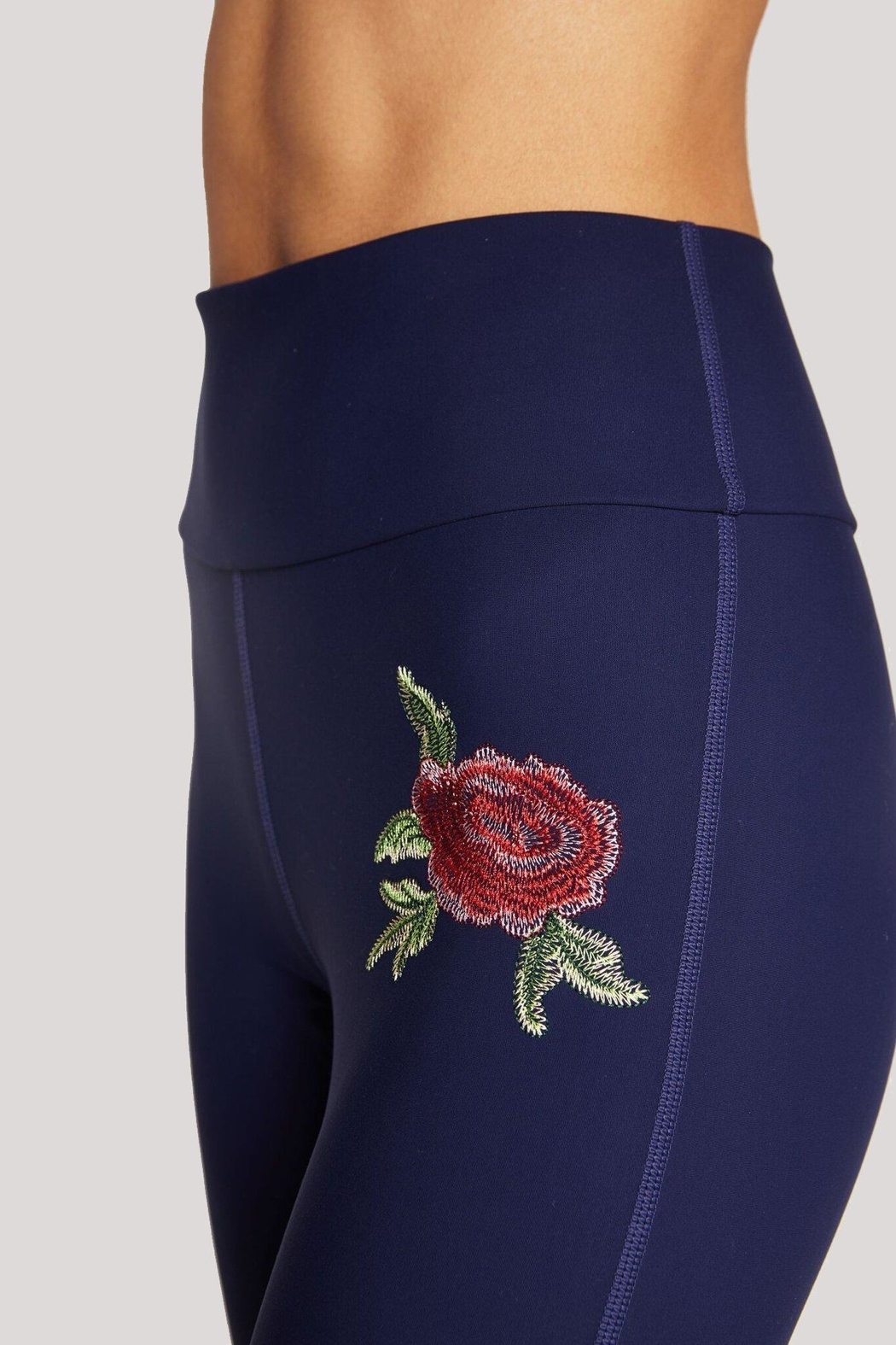 SPIRITUAL GANGSTER Perfect High-Waisted Legging - Side Cropped Image