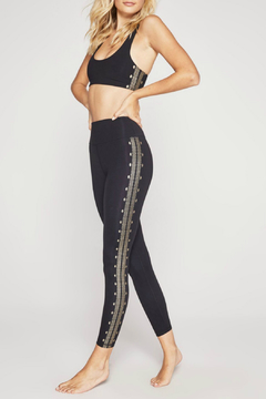 SPIRITUAL GANGSTER Perfect HW Leggings w Gold Foil - Alternate List Image