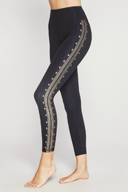 SPIRITUAL GANGSTER Perfect HW Leggings w Gold Foil - Product Mini Image