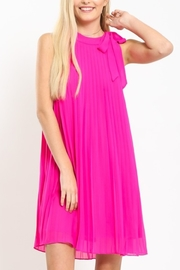 Love Riche Perfect In Pleats dress - Front cropped