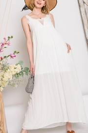 Lyn-Maree's  Perfect Ivory Maxi - Front cropped