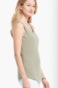 Nic + Zoe Perfect knit fabric tank top. Great for layering. Scoop neck. Signature stretch and softness. - Product List Image