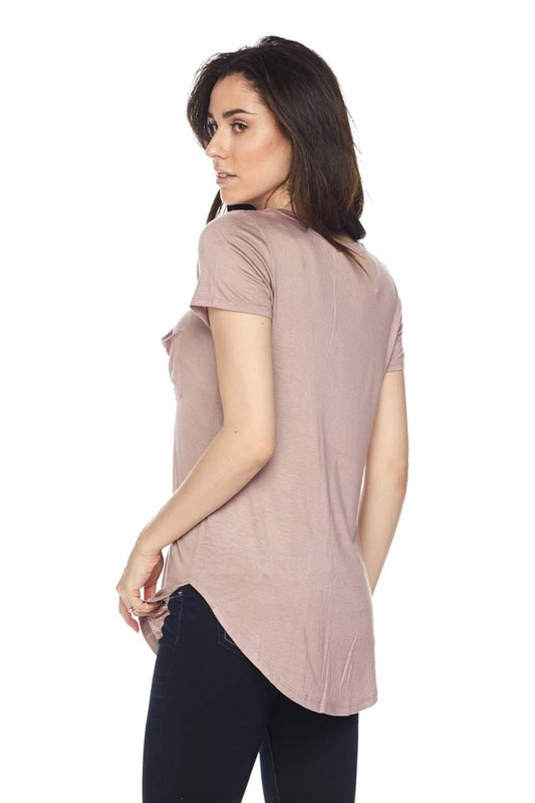 Ambiance Perfect Pocket Top - Front Full Image