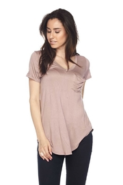 Ambiance Perfect Pocket Top - Front cropped
