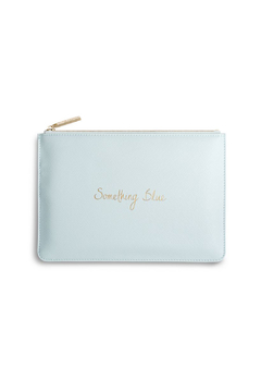 """Shoptiques Product: Perfect Pouch """"Something Blue"""""""