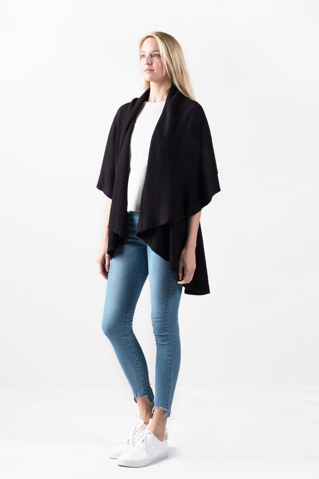 Look by M Perfect Shawl Vest - Front Full Image