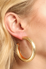 Saachi Perfect Staple Hoop Earring - Product Mini Image