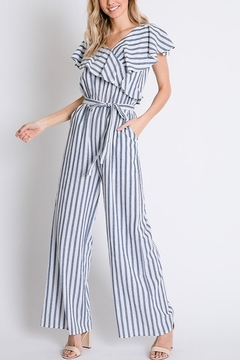 Lyn-Maree's  Perfect Stripe Jumpsuit - Product List Image