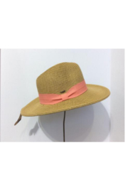 C.C. Perfect Summer Fedora Hat - Front cropped