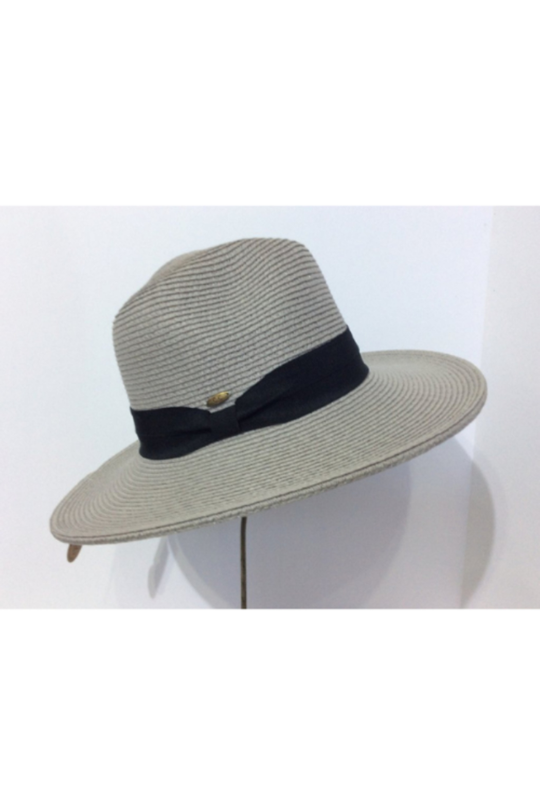 C.C. Perfect Summer Fedora Hat - Front Cropped Image