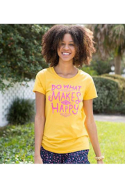 Natural Life Perfect Tee Do What Makes You Happy - Product Mini Image