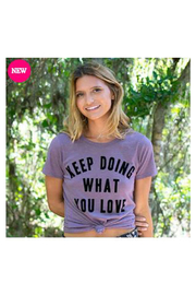 Natural Life Perfect Tee Keep doing You - Product Mini Image