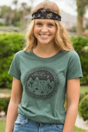Natural Life Perfect Tee Wander Are Lost - Product Mini Image