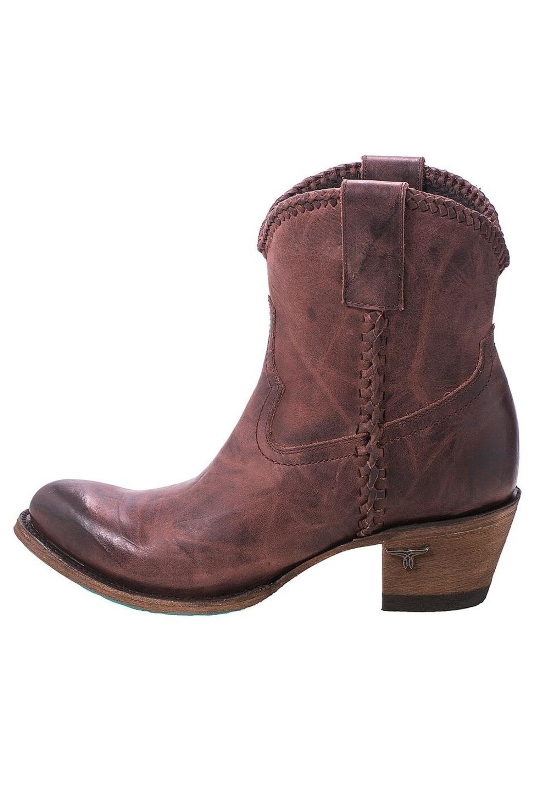 Lane Boots Perfect Western Bootie - Front Full Image
