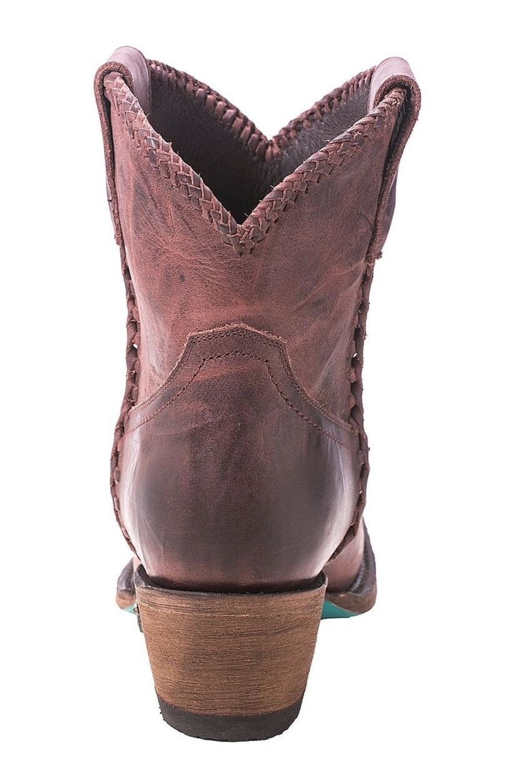 Lane Boots Perfect Western Bootie - Side Cropped Image