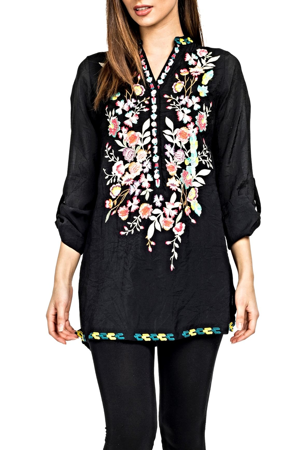 Adore Perfectly Embroidered Blouse - Main Image