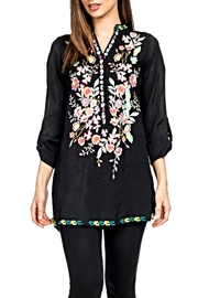 Adore Perfectly Embroidered Blouse - Front cropped