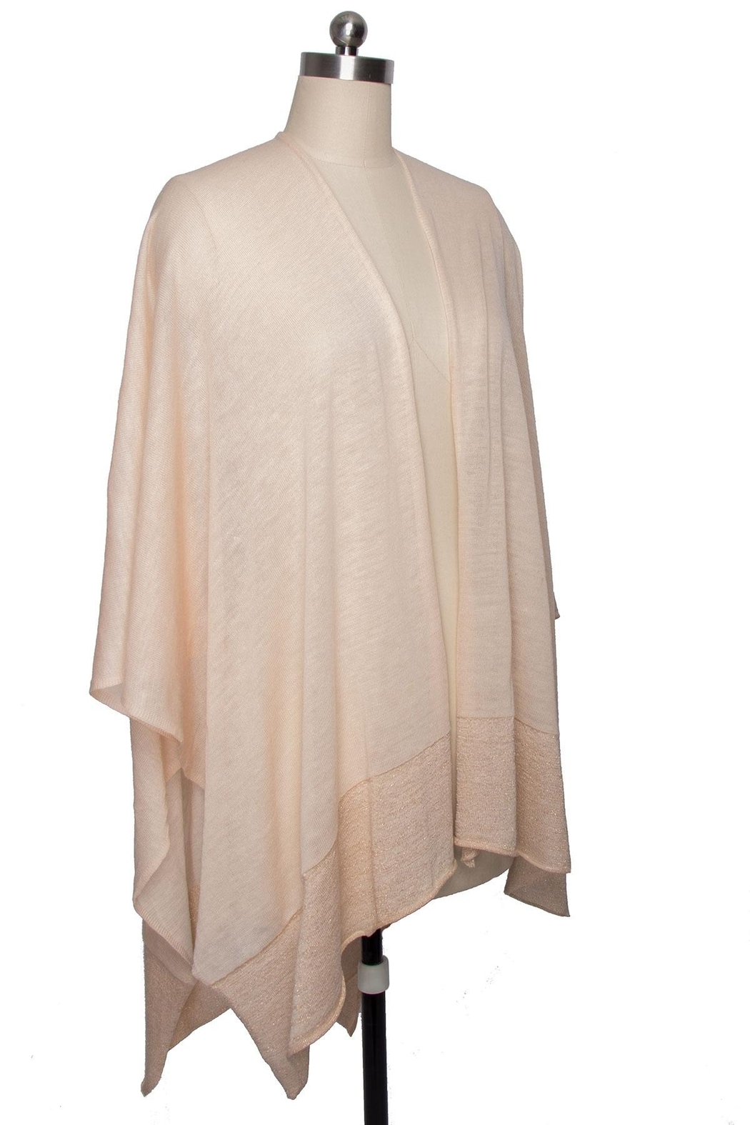 Saachi Perfectly Luxe Wrap - Back Cropped Image