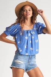 Billabong Perfectly Puff Floral Top - Product Mini Image