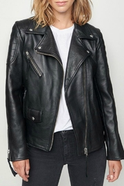 Zoe Karssen Perfecto Leather Jacket - Product Mini Image