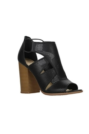Soda Perforated Faux-Leather Sandal - Front full body