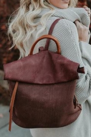 Gifted Perforated Foldover Backpack - Product Mini Image