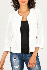 Kut from the Kloth Perforated Leather Jacket - Product Mini Image