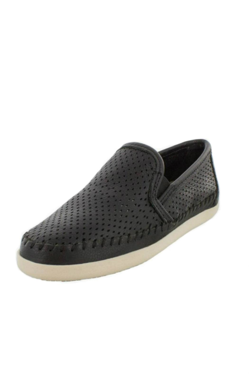 Minnetonka Perforated Leather Sneaker - Main Image