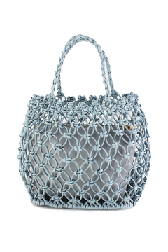 Street Level Perforated Mini Bag with Inside Pouch - Alternate List Image