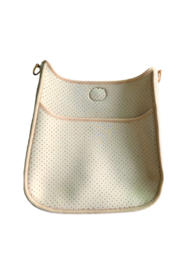 Ah!dorned Perforated Neoprene Messenger - Strap Not Included - Front cropped