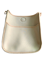 Ahdorned Perforated Neoprene Messenger - Strap Not Included - Product Mini Image