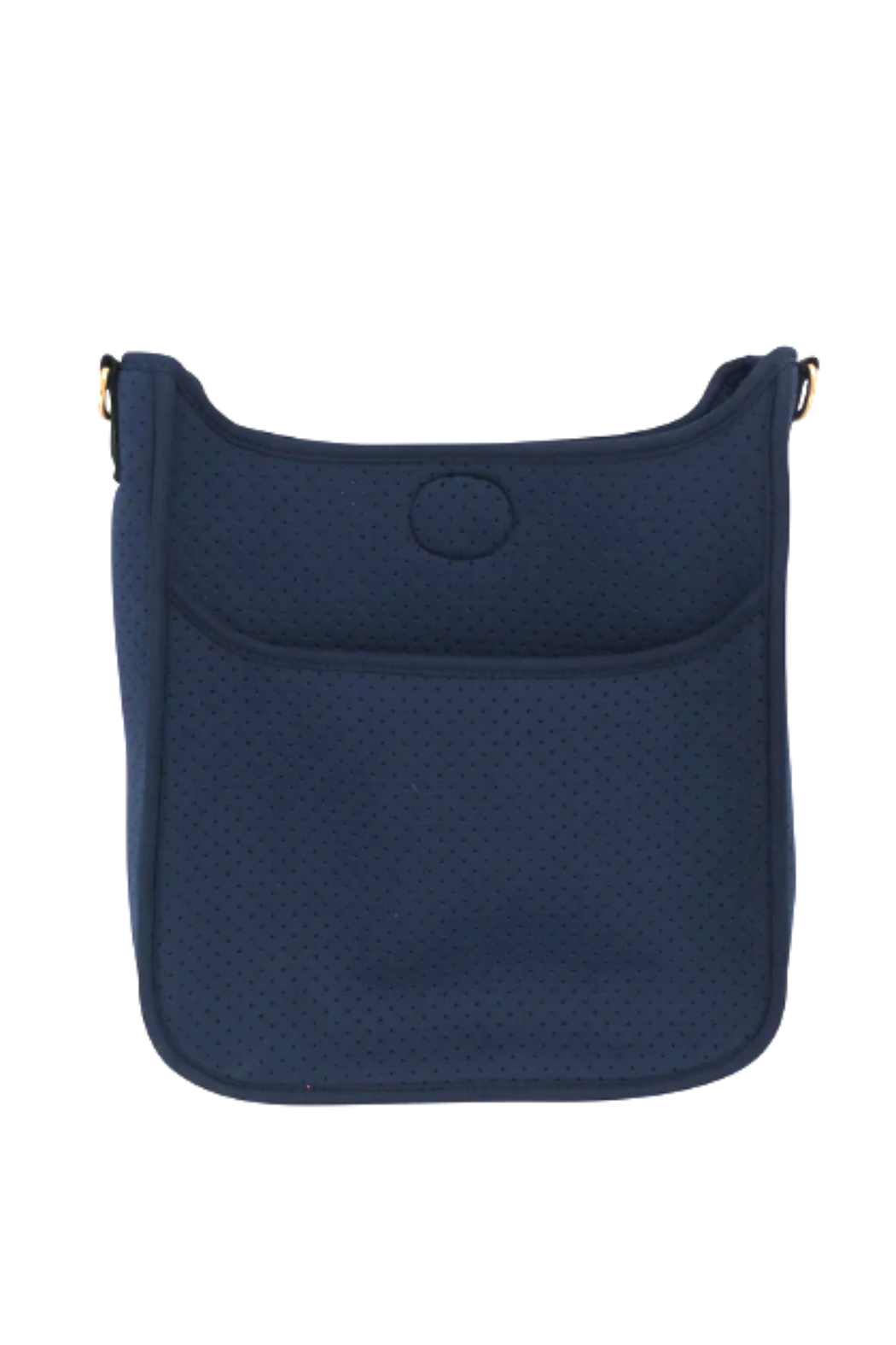 Ah!dorned Perforated Neoprene Messenger - Strap Not Included - Front Cropped Image
