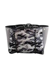 Ah!dorned Perforated Neoprene Tote - Front cropped