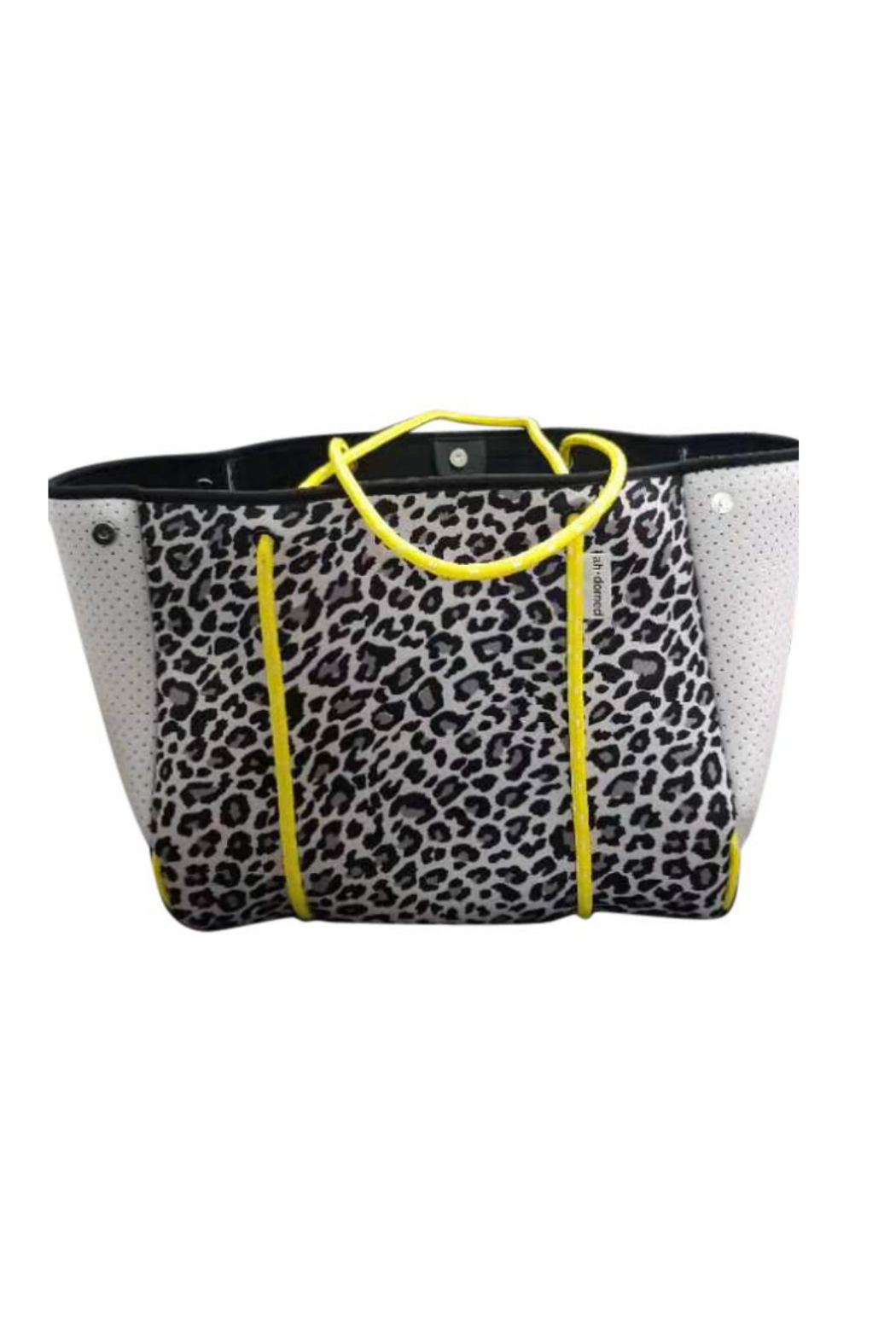 Ah!dorned Perforated Neoprene Tote - Front Cropped Image