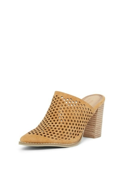 Vintage Havana Perforated Slip-On Mule - Product List Image