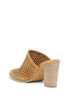 Vintage Havana Perforated Slip-On Mule - Alternate List Image